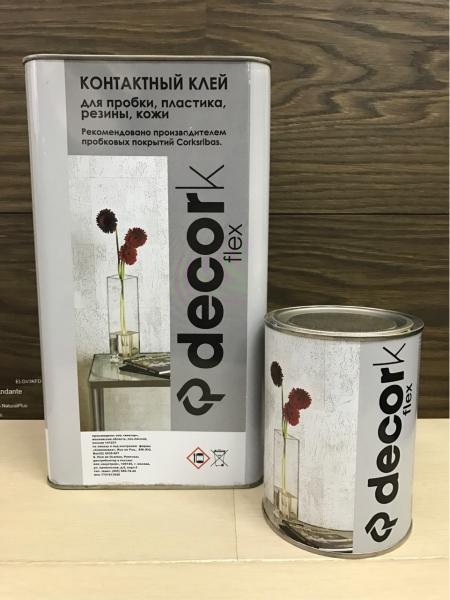 Клей для пробки Decork Flex