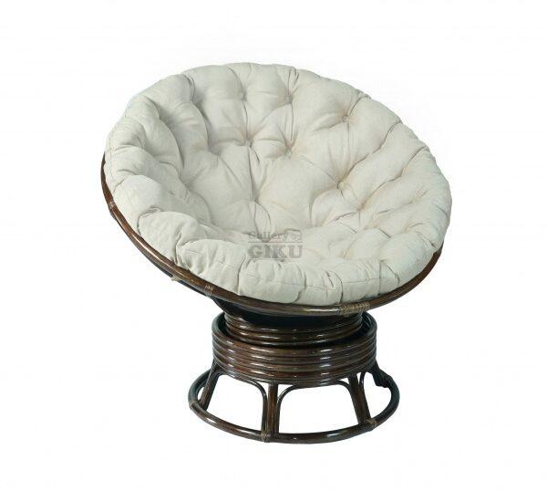 вращающееся кресло папасан