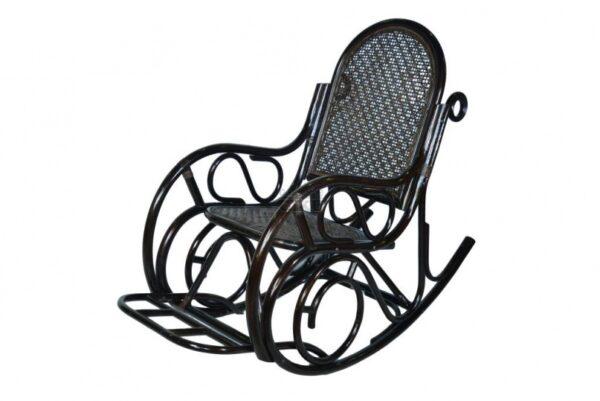 Кресло-качалка плетеное из ротанга купить